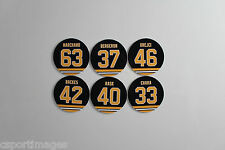 Boston Bruins 3 inch magnets Marchand Backes Krejci Chara Rask Bergeron