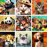 40*50CM DIY Acrylic Paint By Number Kit Oil Painting Wall Decor On Linen Animal