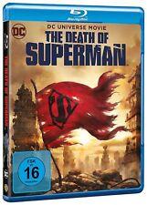 DEATH OF SUPERMAN VON DC UNIVERSE MOVIE BLU-RAY DEUTSCH