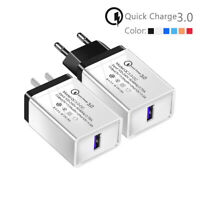 quick charge 3.0 usb power adapter wall charger for samsung s10 s9 plus note8 1