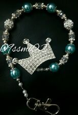 ❤ Bling Shamballa Dummy Clip Diamante crown Romany!!❤boys