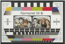 """Norway - """"50 YEARS OF TELEVISION T.V."""" MNH MS 2010 !"""