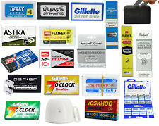 Double Edge Safety Razor Blades   Choose Brand & Quantity