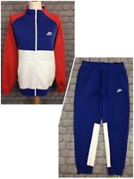 NIKE MENS RED WHITE BLUE CHARIOT TRACK TOP / JOGGERS PANTS *SOLD SEPARATELY* AD