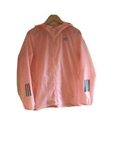 Fab Peach Adidas Reflective Running Hooded Jacket