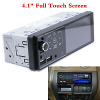 "4.1"" 1Din Car Radio Full Touch Screen Dual USB FM Bluetooth MP5 Player FM Stereo"