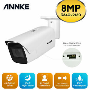 ANNKE Camera with Audio 8MP 4K Home Security View on pc Phone NVR HD Night C800