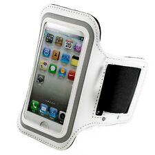kwmobile Armband für Apple Iphone Se 5 5S Weiß Sport Tasche Joggen Jogging Case