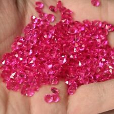 20000pcs 4.5mm(½CT) Acrylic Diamond wedding Party Table 3D Decoration  Rose Red