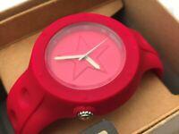 Converse Watch Red Unisex Analog Wrist Watch Sport Water Resistant 50M