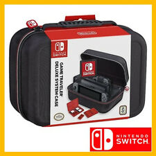 NEW Nintendo Switch Game Traveller Deluxe Travel Full System Case RDS Industries