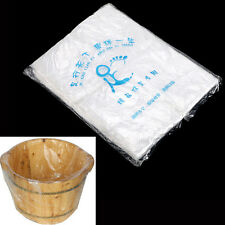 90X Disposable Foot Tub Liners Bath Basin Bags for Foot Pedicure Spa 55*65cm HV