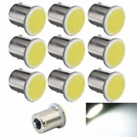 10Pcs Blanc 1156 Ba15S P21W Lampe 1156 LED Voiture Led Cob 12 SMD 12V Tension 9T