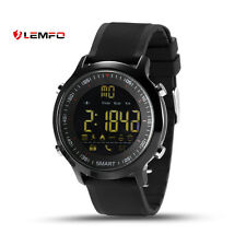 IP67 Waterproof Lemfo EX18 Orologio intelligente Fitness Nero per Android IOS