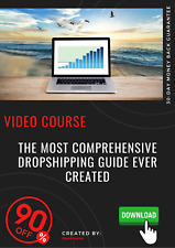 The Most Comprehensive Dropshipping Guide Ever Created video training tutorial