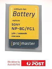 ProMaster Lithium ion battery replacement for: Sony FG-1 & BG-1 3.6v/1000mAh