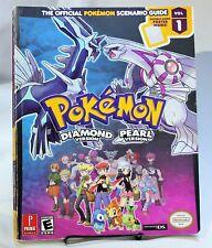 Pokemon Diamond Pearl Strategy Guide Hint Book Inc POSTER Prima Nintendo DS