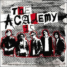 THE ACADEMY IS Band Shot Sticker NEW OFFICIAL MERCHANDISE RARE (All Time Low)