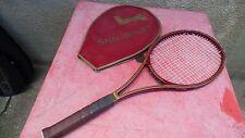 raquette de tennis vintage Golden Mid avec housse