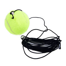 Drill Exercise Sports Tennis Training Ball With String Rope Trainer Train Tool Y