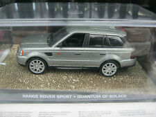 James bond cars collection:OO7 RANGEROVER SPORT ISSUE 79.1/43 NEW & SEALED