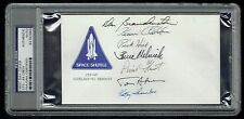 Sts-49 Crew (7) signed autograph First Day Cover Melnick, Chilton +5 Psa Slabbed