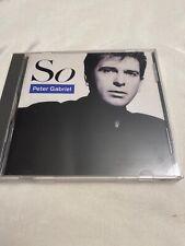 Peter Gabriel - So CD - Geffen 9 24088-2