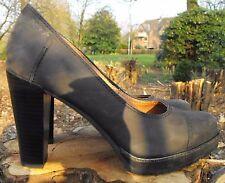 MarcO Polo  Edle Damen Schuhe Halbschuhe  Leder Gr.40 schwarz