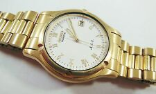 Seiko SDM048 Gold Tone Base Metal 7M22-8A5L Sample Watch NON-WORKING