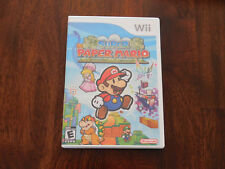 Super Paper Mario Nintendo Wii Video Game Complete