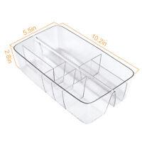 Vanity Makeup Storage Cosmetic Organizer Box Tray Holder Bin Acrylic Bathroom