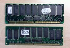 Modulo memoria Registered  RAM - SDRAM PC100 Samsung e PC133 ELPIDA