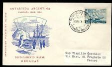 ARGENTINA - ARGENTINA - 1964 - BUSTA - Da Base ORCADAS a Pesaro/Italia