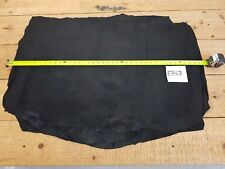 Black Pig Suede Stretch Leather 1mm Thick Whole Hide Good Quality Genuine EB67