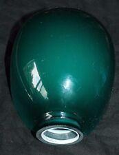 rare joli verre doublé pour lampe de bureau ou autre
