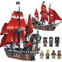 Queen Anne's Revenge - Pirati Dei Caraibi - Compatibile Mattoncini - 1154 pz
