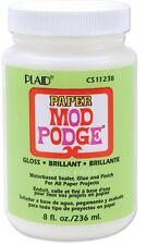 Plaid  Mod Podge DECOUPAGE Paper Gloss Finish 8oz CS11238