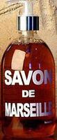 Savon de Marseille South of French Provence LAVENDER Liquid Hand Bath Soap Pump