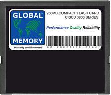 256MB COMPACT FLASH CARD mémoire pour Cisco 3800 Routeur séries (mem3800-256cf)