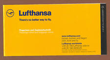 Lufthansa Passenger Ticket & Baggage Check Jacket Cover only NEW