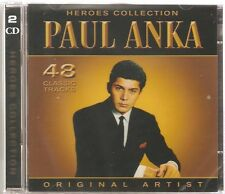 PAUL ANKA HEROES COLLECTION 2 CD SET - YOU ARE MY DESTINY & MORE