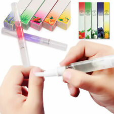 12Pc Mix Taste Cuticle Revitalizer Oil Pen Nail Art Manicure Care Treatment P7P8