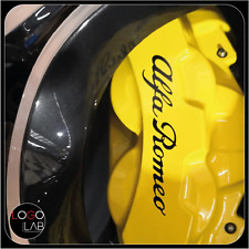 KIT 4 ADESIVI ALFA ROMEO come originali pinze freno Giulia Stelvio Q4 QV 2020
