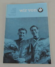 "Magazine "" We From BMW "" Edition No. 7/8 Vintage 1960"