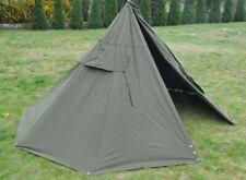 Set 2 Unused Military Polish Army Poncho or 1 Tent. BIGGEST SIZE 3.Lavvu 1970's.