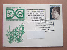 West Leicester District International Weekend 1972 Envelope Boy Scouts Scouting