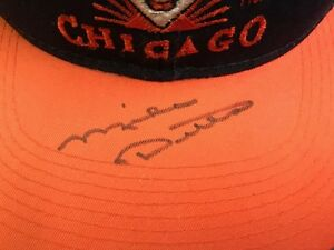 MIKE DITKA DA BEARS NFL SIGNED AUTOGRAPHED CHICAGO BEARS HAT