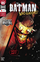 BATMAN WHO LAUGHS #1 DC COMICS JOKER METAL COVER A 1ST PRINT