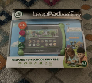 LeapFrog LeapPad Academy Kids Learning Tablet - Green - BRAND NEW