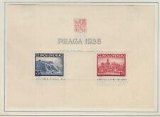 Czechoslovakia 1938 Prague Exhibition Sc 251   mint lightly hinged